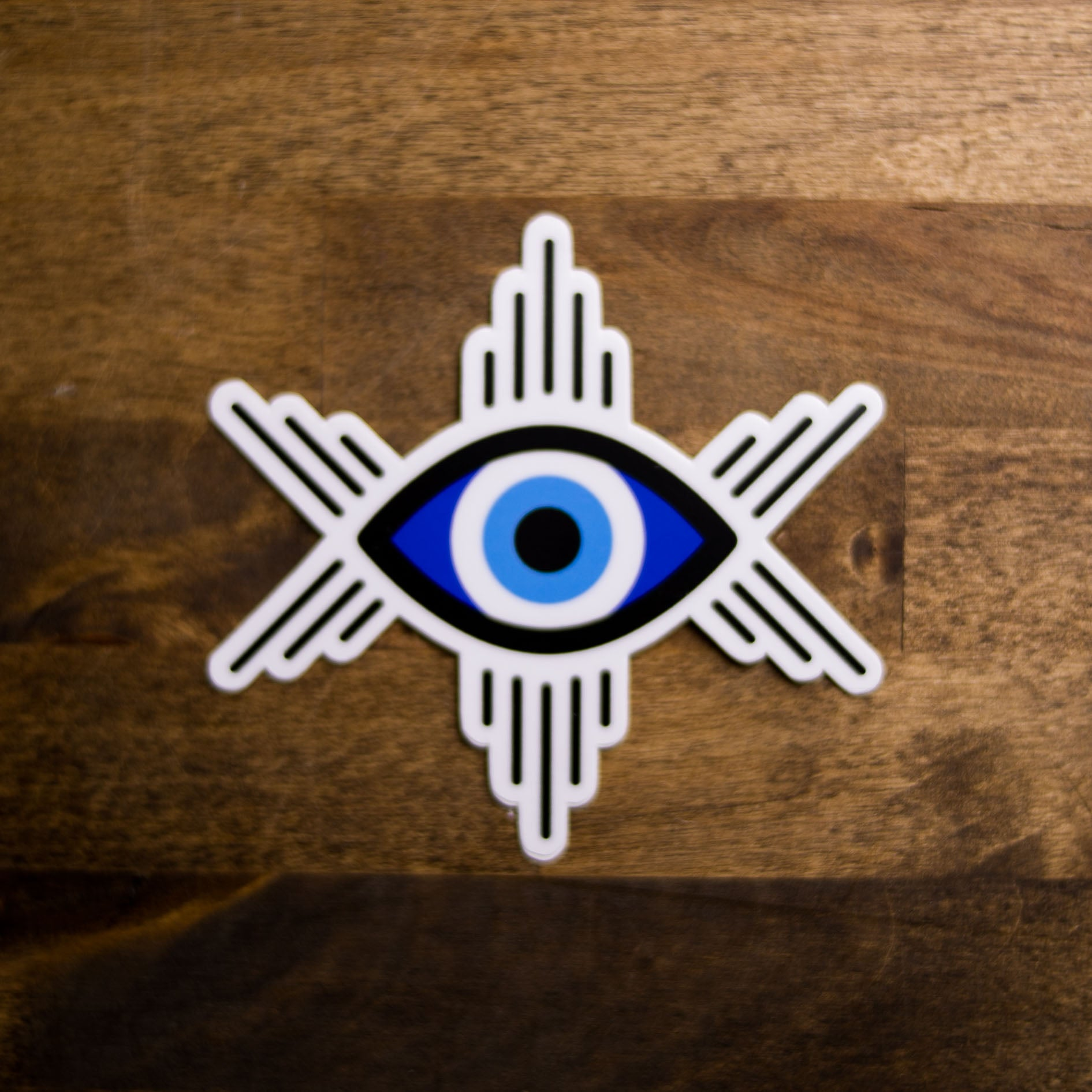 sewbonita evil eye ojo sticker