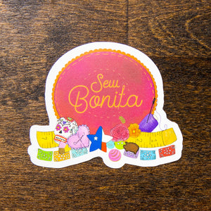sew bonita sticker