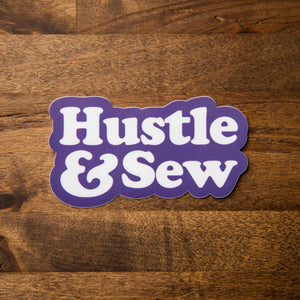 hustle and sew sticker sew bonita