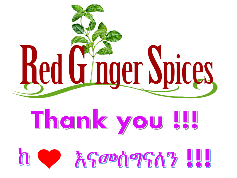 Red Ginger Spices