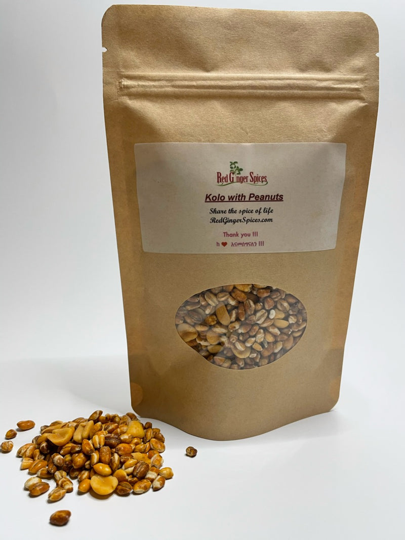 Red Ginger Spices Kolo Ethiopian Roasted Barley