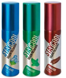 Cool Mint, Spearmint, Cinnamon - 3 Pack