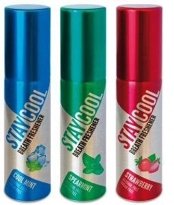 Cool Mint, Spearmint, Strawberry - 3 Pack