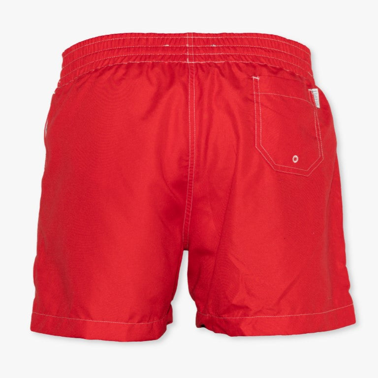 Georgia State Flag Swim Trunks - Meripex Apparel