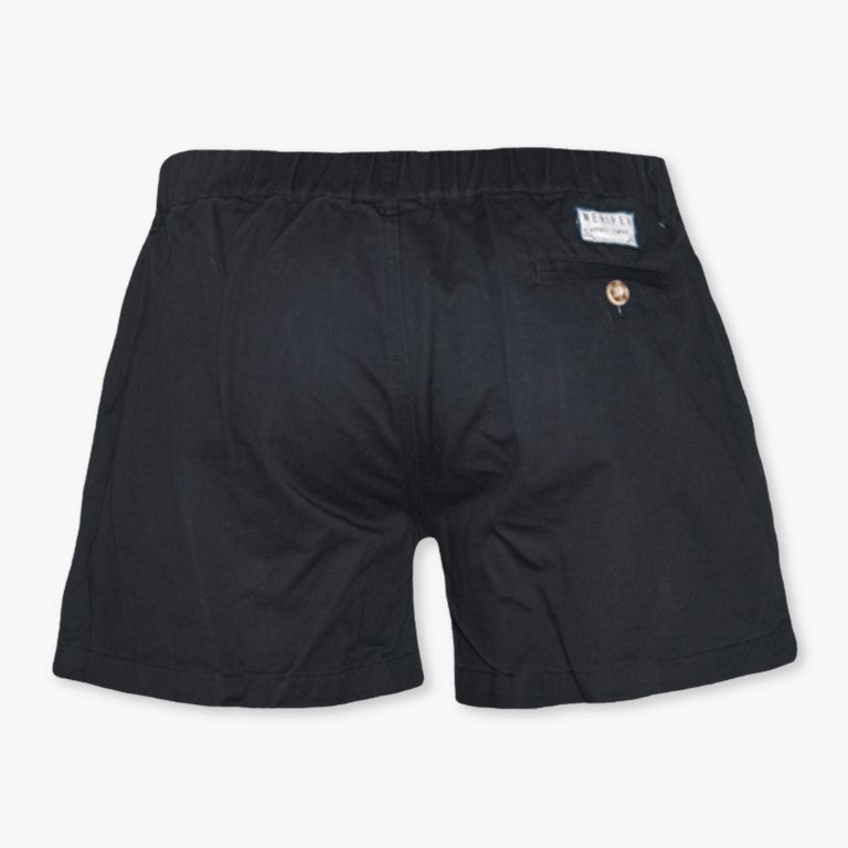 Jet Black (Stretch) - Meripex Apparel