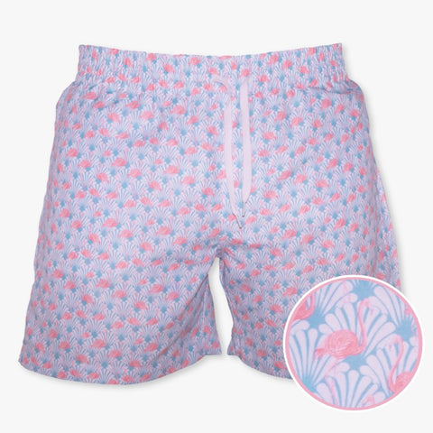 Flamingo Swim Trunks - Meripex Apparel