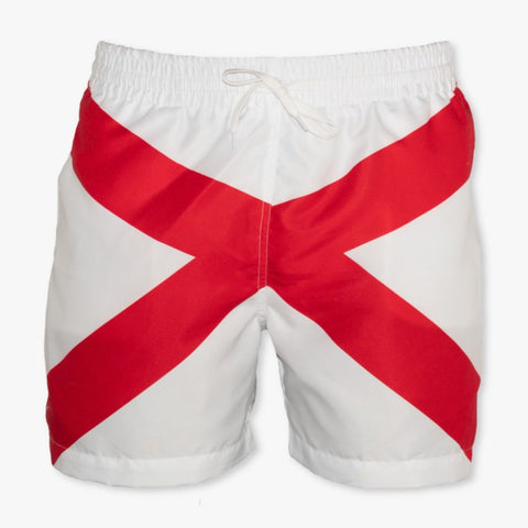 Alabama State Flag Swim Trunks - Meripex Apparel