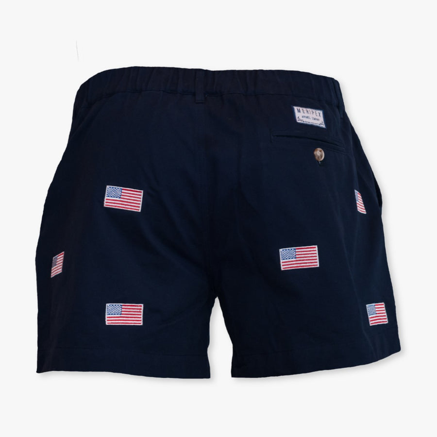 American Flag Shorts - Meripex Apparel