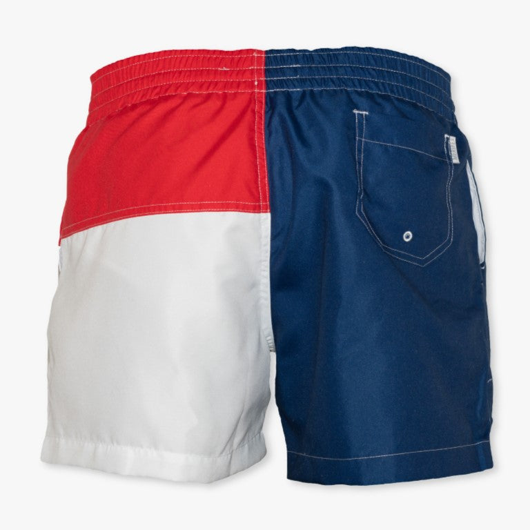 North Carolina State Flag Swim Trunks - Meripex Apparel