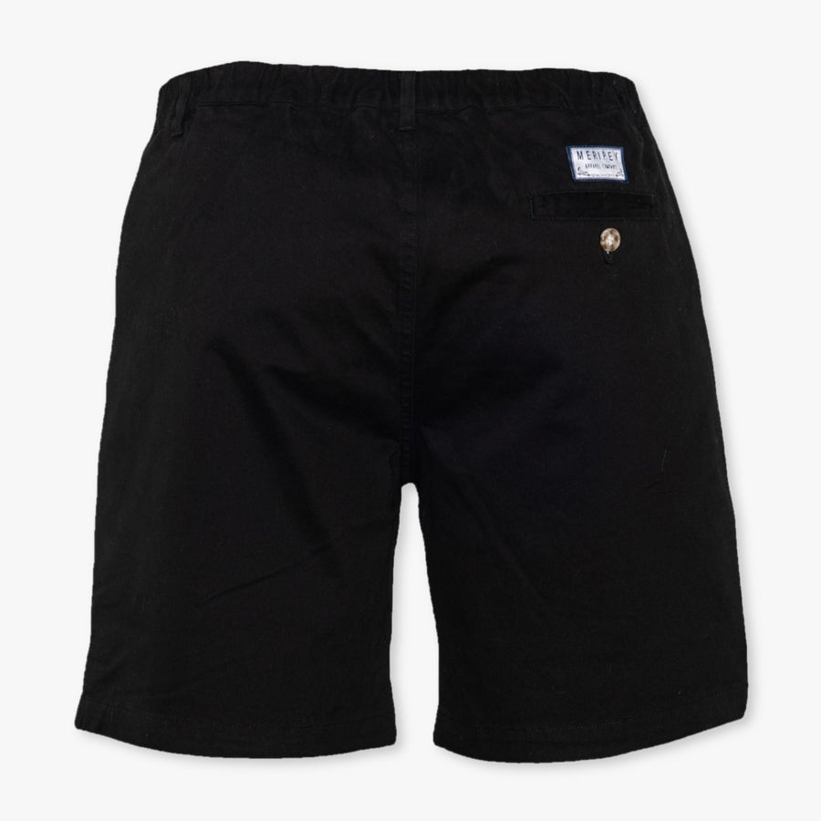 "Black 7"" Stretch Shorts - Meripex Apparel"