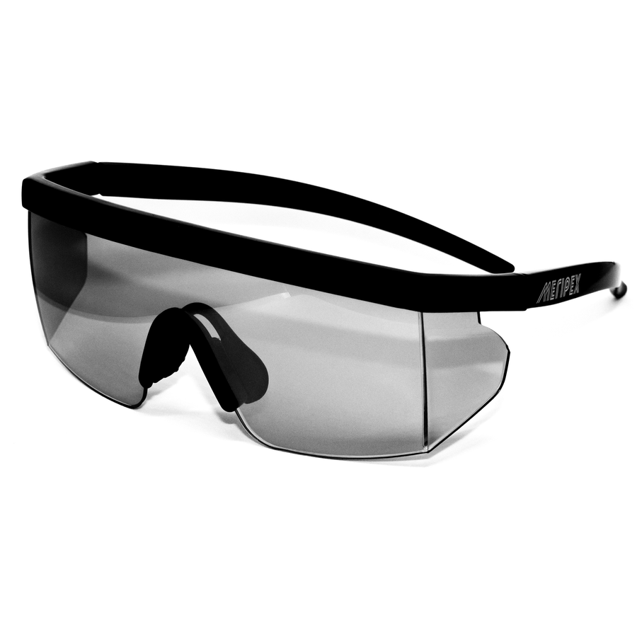 Glossy Black Vintage Mirrored Sunglasses - Meripex Apparel