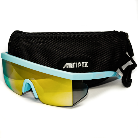 Blue Vintage Mirrored Sunglasses - Meripex Apparel