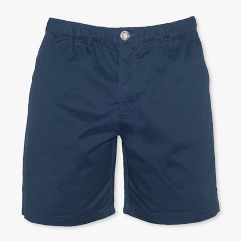 "Navy 7"" Stretch Shorts - Meripex Apparel"
