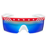 '76 USA Patriotic Edition Vintage Mirrored Sunglasses