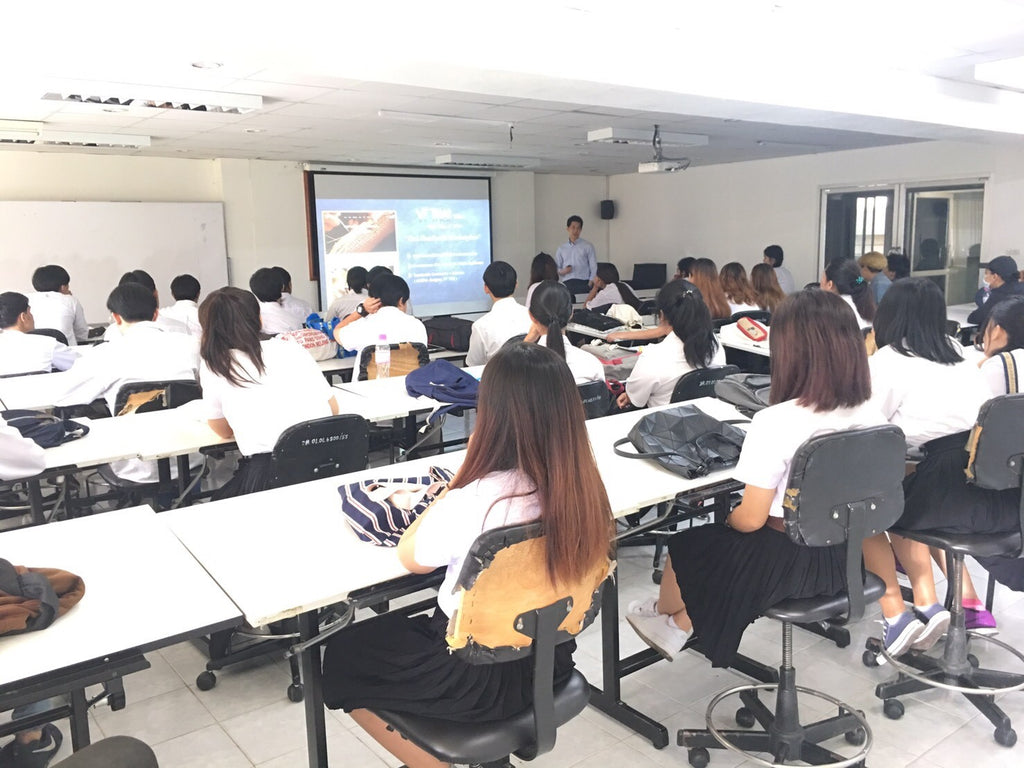 Collaboration with Thai universities