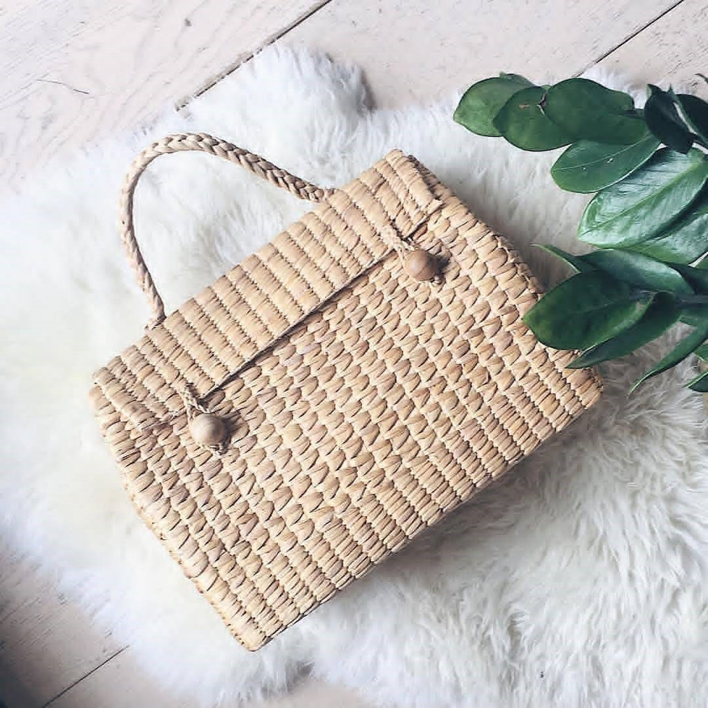 Weaving Gold Out of the Water: Water Hyacinth Handbag