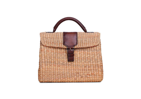 VIPHA WICKER BAG (Brown)