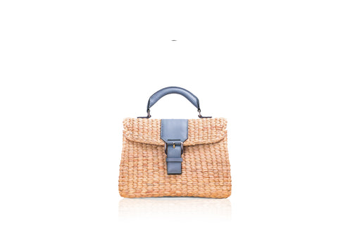 MINI VIPHA WICKER BAG (Grey)
