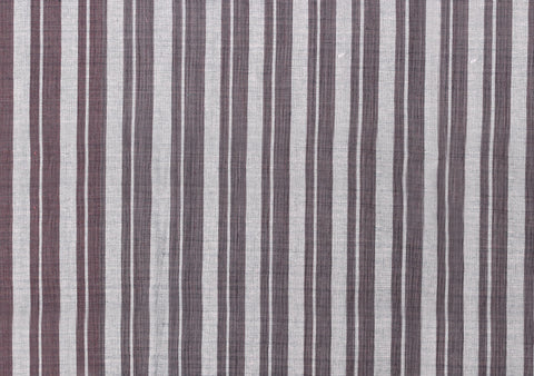 2 Vertical Stripes Indigo dyeing mix ebony
