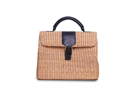 VIPHA WICKER BAG (Grey)