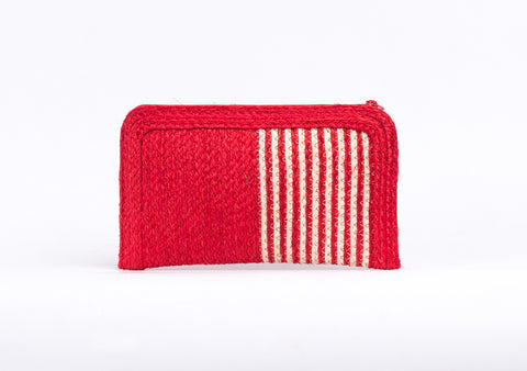 Bangkok Craft - Sisal Wallet Bag (Red)