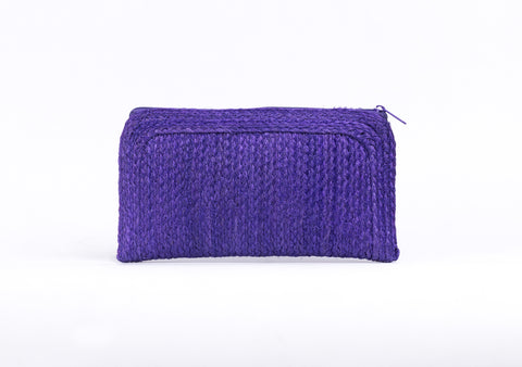 Bangkok Craft - Sisal Wallet Bag (Purple)