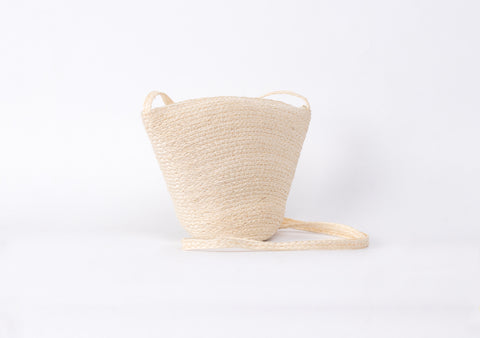 Bangkok Craft - Sisal Shoulder Bag (White)