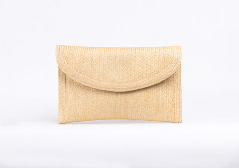 Bangkok Craft - Sisal Clutch Bag (Beige)