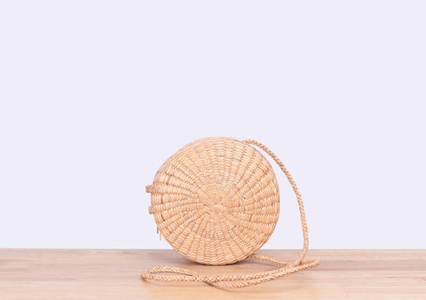 CIRCLE CROSS BODY BAG (NATURAL)
