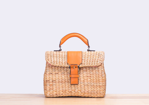 MINI VIPHA WICKER BAG (Night jasmine)