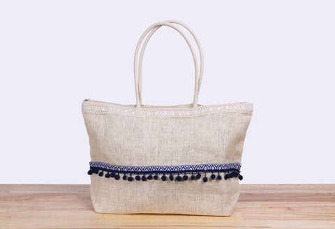 Big White Tote Bag