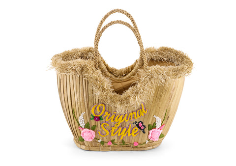 Water Hyacinth Hand Bag Pattern Original Style