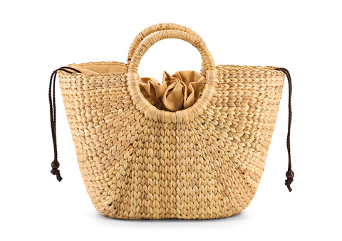 Water Hyacinth Hand bag Pattern Boran