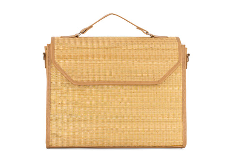 Natural Document shoulder bag