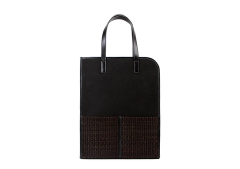 Tote Bag With Sedge (Black)