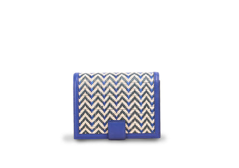 Bamboo Mini Bag (Navy-Navy)
