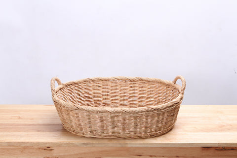 Natural Wicker Basket (Short) (S)