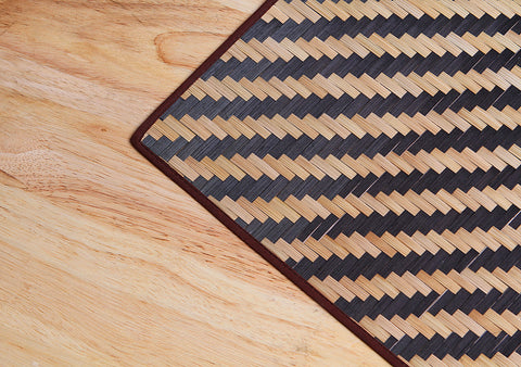 Bamboo Black place mat