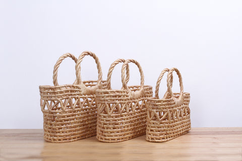 Straw handbag ( Set )