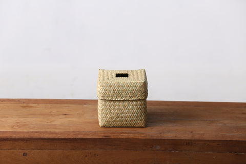 Seagrass Tissue Box Cover