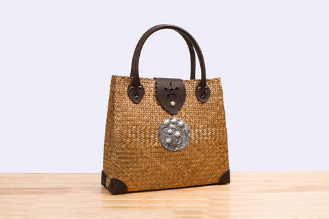 Woven Seagrass shoulder bag