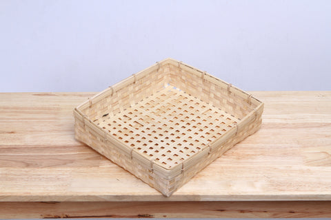 Square Bamboo Basket