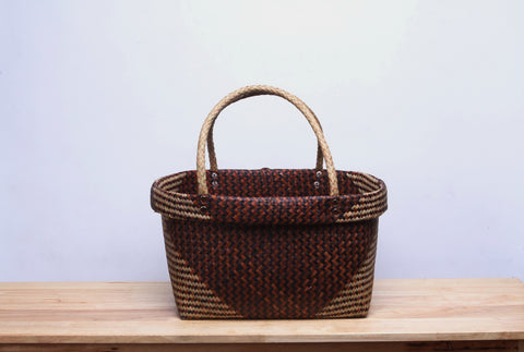 Brown Seagrass Basket