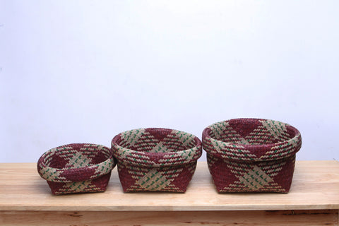 Set Seagrass Basket