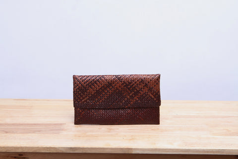 Small Panan Pandan Envelope Bag