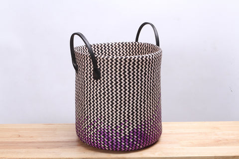 Purple Clothes Basket