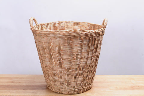 Natural Wicker Basket (Tall)