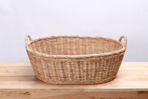 Natural Wicker Basket (Short)(M)