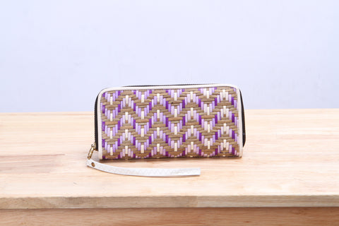 Varni - Seagrass Wallet (Purple)