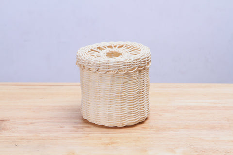 Rattan Wicker Tissue Paper Cover